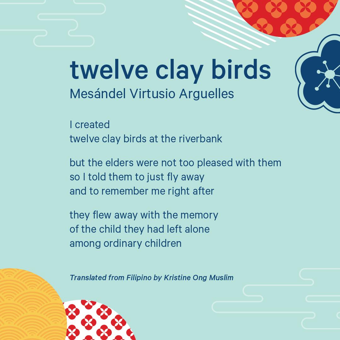 Poem written in English